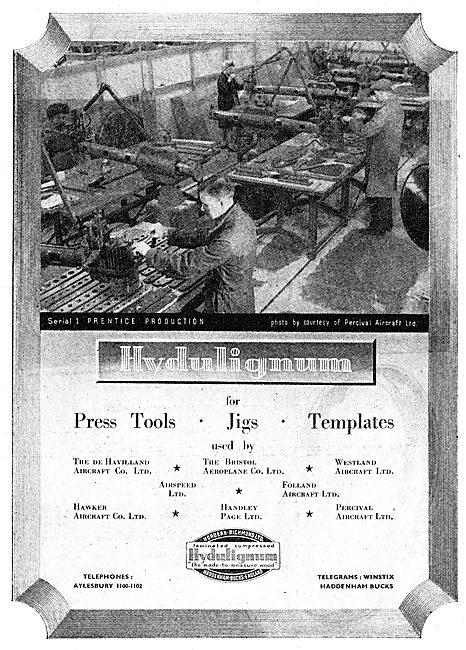 Hordern Richmond Hydulignum Press Tools, Jigs & Templates.