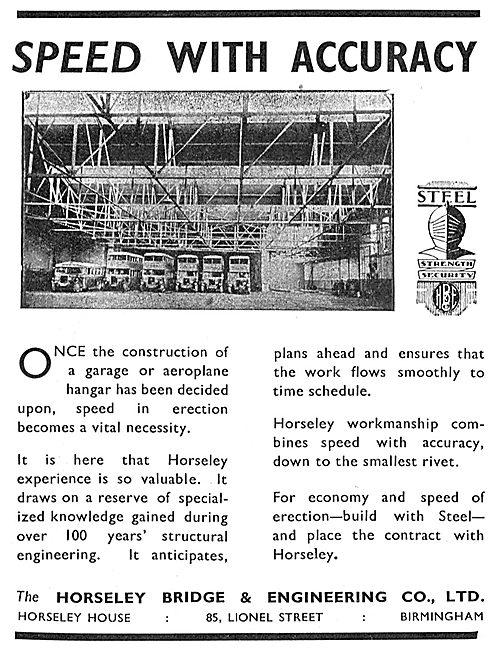 Horseley Bridge Lamella Hangars
