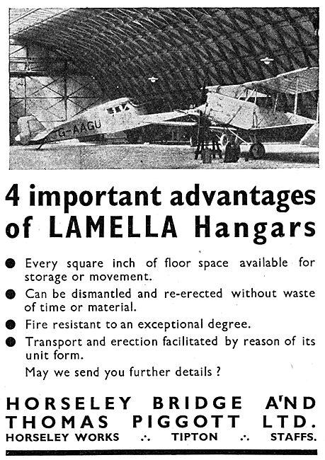 Horseley Bridge Aircraft Hangars - Lamella