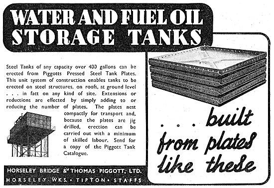 Horseley Bridge Aircraft Hangars & Water Storage Tanks