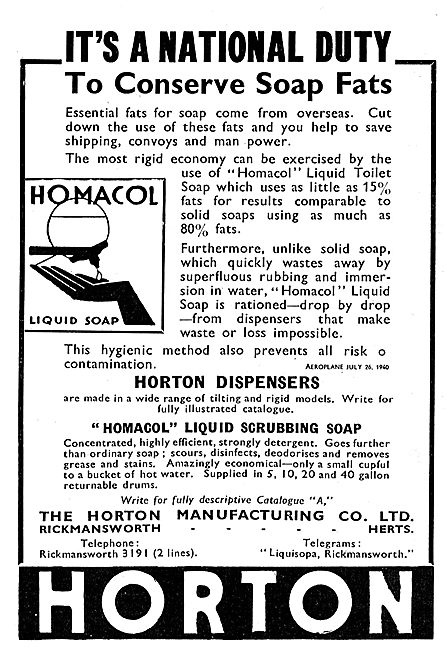 Horton Homacol Liquid Soap Dispensers