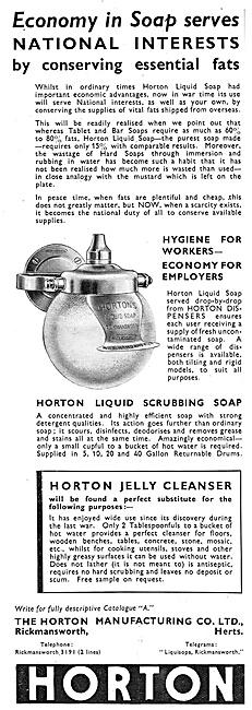 Horton Manufacturing - Horton Soap Dispensers