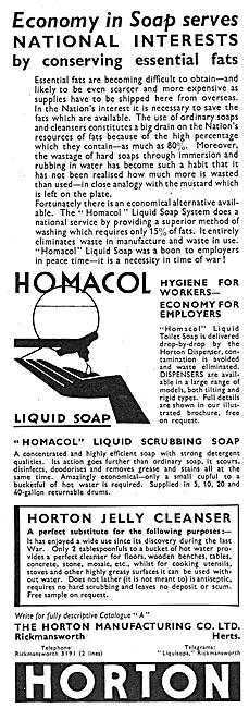 Horton Manufacturing - Homacol Liquid Soaps