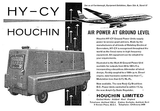 Houchin Ground Power Units For Aircraft