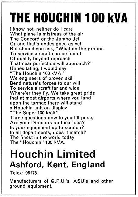 Houchin 100 kVA Ground Power UNit