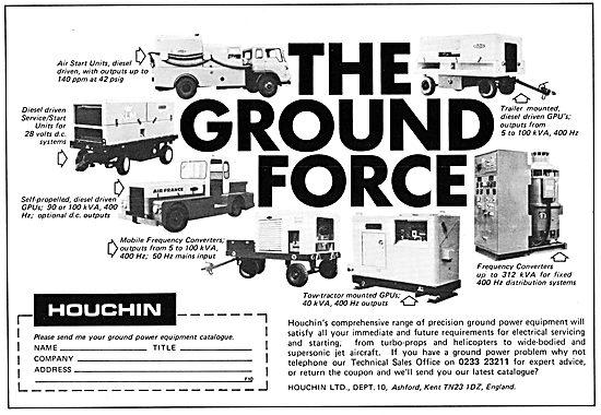Houchin Ground Power Units & Support Equipment