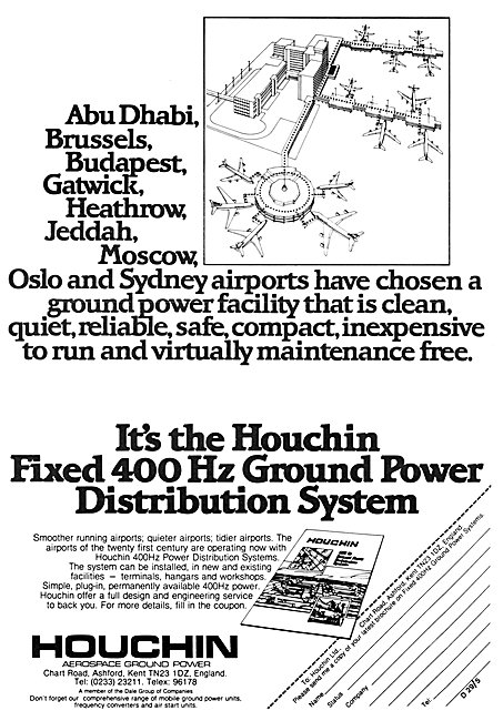 Houchin Ground Power Units & Fixed Installations