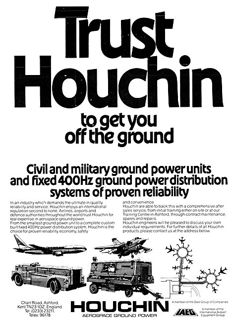 Houchin Electrical Ground Power Units & Fixed Installations