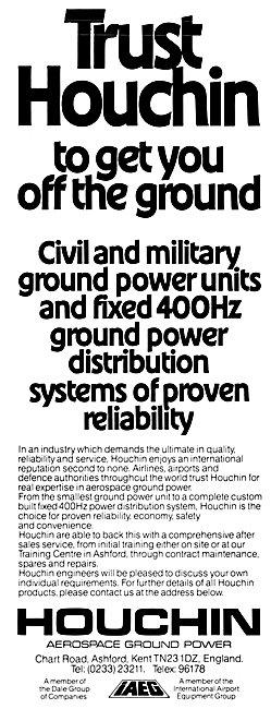 Houchin Ground Power Units. Fixed 400Hz Ground Power Distribution