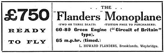 Howard-Flanders - Flanders Monoplane