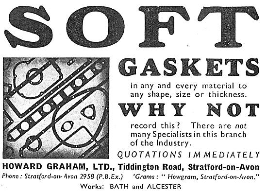 Howard Graham Soft Gaskets.