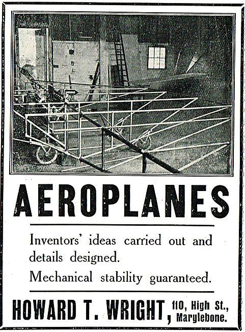 Howard T. Wright Aeroplanes