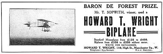 Howard T. Wright Biplane