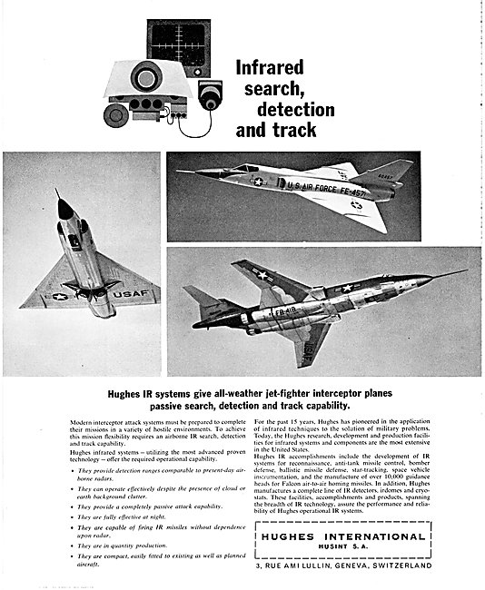 Hughes International Interceptor Attack Systems Hughes IR