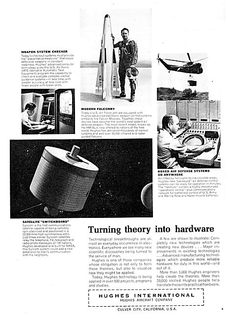 Hughes International - Aircraft & Products 1963