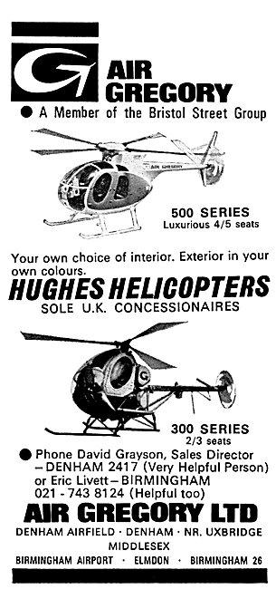 Hughes 500 Hughes 300 Air Gregory Denham