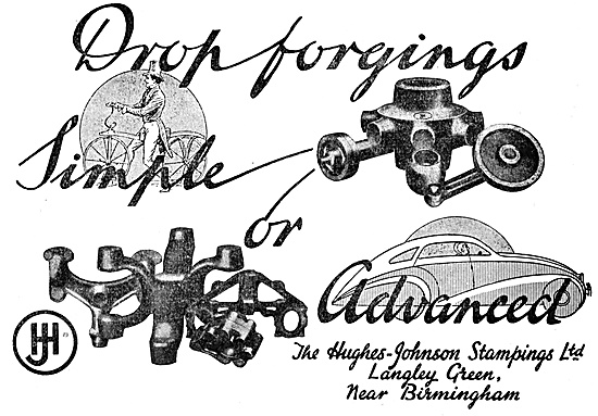 Hughes-Johnson Drop Forgings For The Aircraft Industry