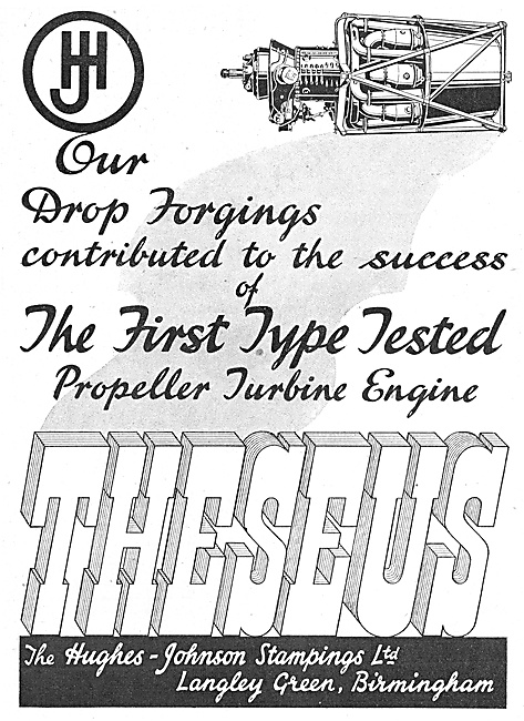 Hughes-Johnson Stampings & Drop Forging For Aircraft
