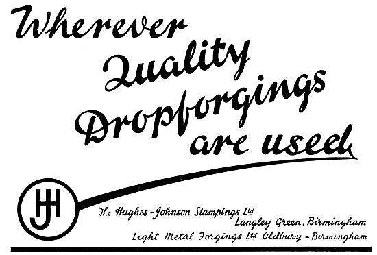 Hughes-Johnson Stampings & Drop Forgings 1954