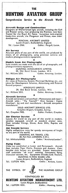 Hunting Aviation Group Services