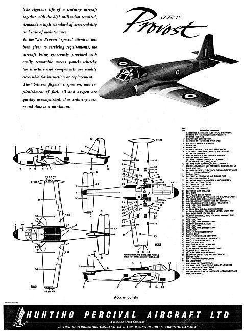 Hunting Percival Jet Provost