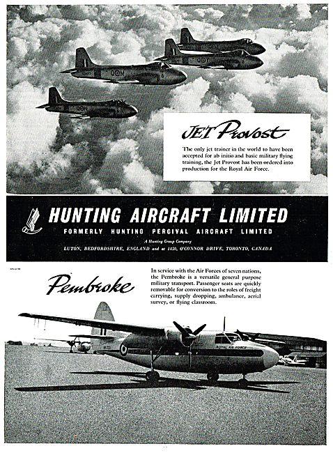 Hunting Jet Provost - Hunting Pembroke