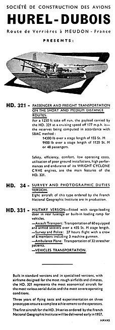 Hurel-Dubois - HD 321 -  HD 331 - HD 34