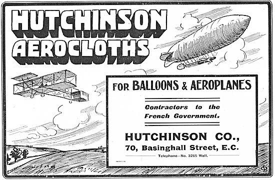 Hutchinson Aerocloths For Balloons & Aeroplanes