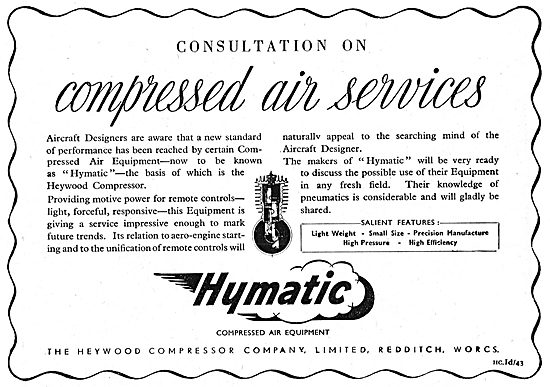 Hymatic Compressed Air Equipment