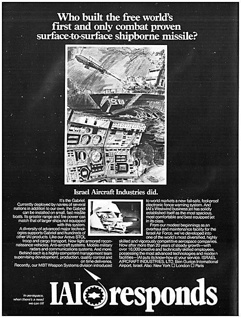 Israel Aircraft Industries. IAI Missiles