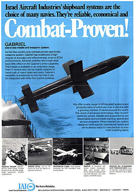 Israel Aircraft Industries. IAI Gabriel Missile