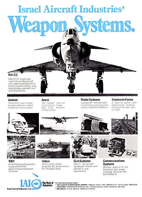 Israel Aircraft Industries. IAI Kfir Arava Gabriel