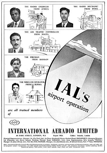 International Aeradio: IAL Airport Personnel Operators Training