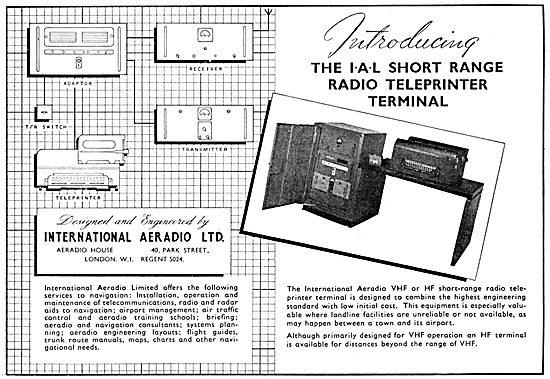 International Aeradio: IAL Radio Teleprinter Terminal