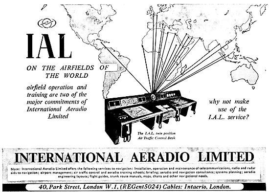 International Aeradio: IAL ATC Control Consoles