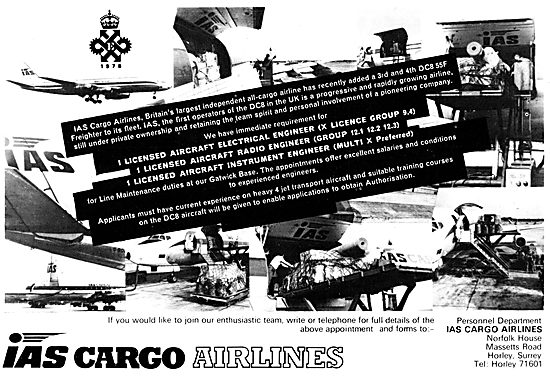 IAS Cargo Airlines - International Aviation Services