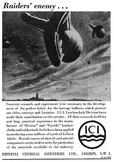ICI Leathercloth & Rubberised Cloth