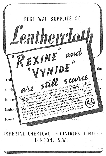 ICI Leathercloth Rexine & Vynide