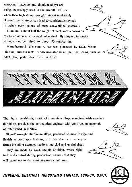 ICI Metals Division - Wrought Titanium
