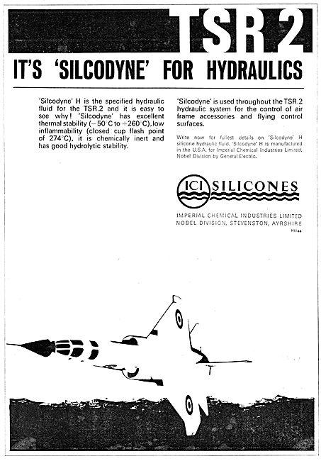 ICI SILCODYNE H  Hydraulic Fluid