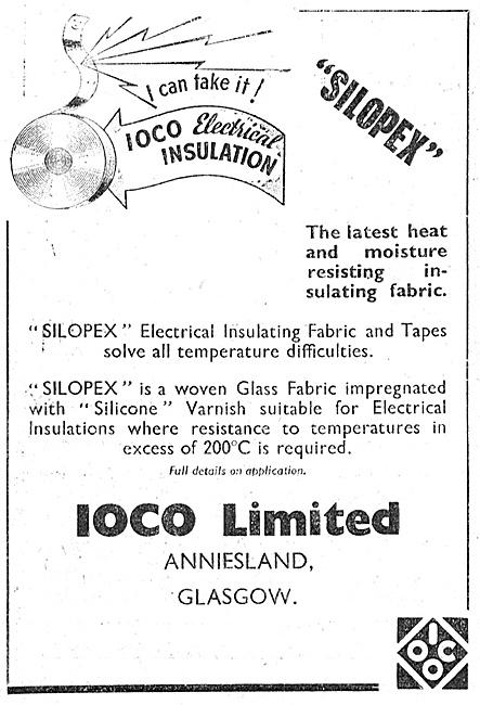 IOCO SILOPEX Glass Fibre Electrical Wire Insulation