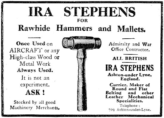 IRA Stephens - Rawhide Engineers Hammers & Mallets