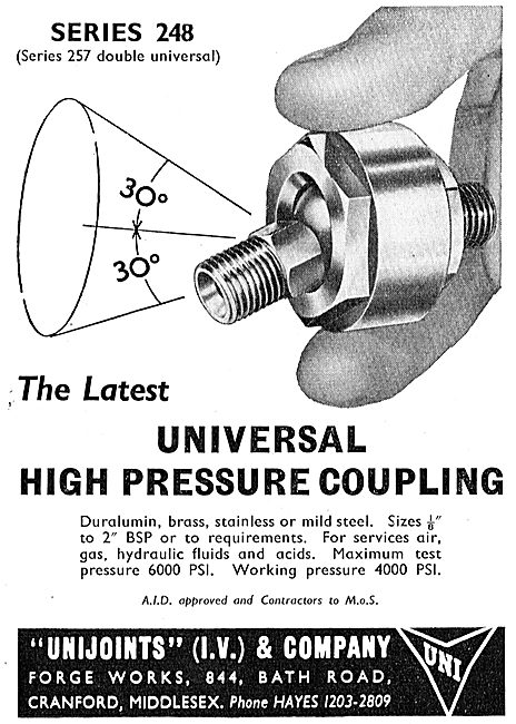 I.V.Pressure Controllers Valves For Aircraft & Missiles