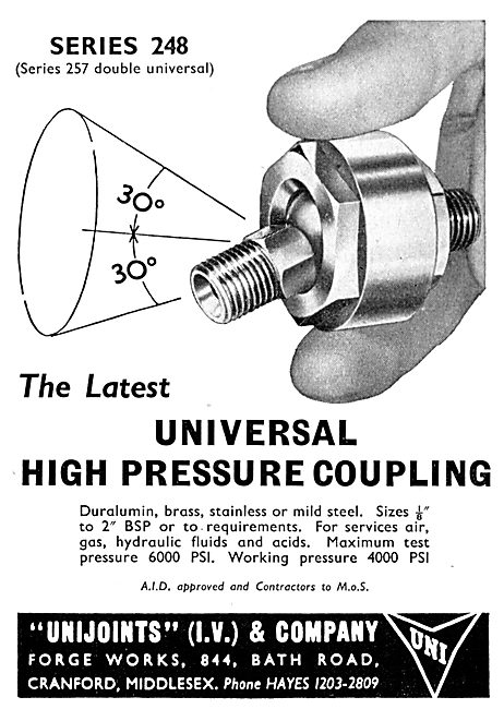 I.V.Pressure Controllers - Valves For Aircraft & Missiles