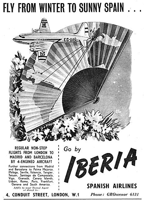 Iberia Spamish Airlines 1953