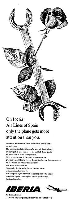 Iberia Air Lines Of Spain
