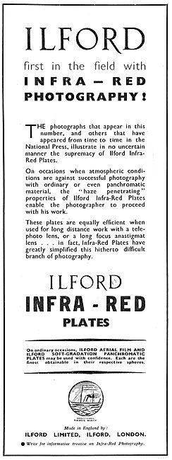 Ilford First In Infra Red Photography