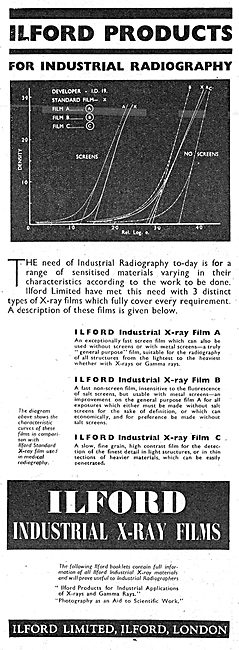 Ilford Industrial Radiography Products