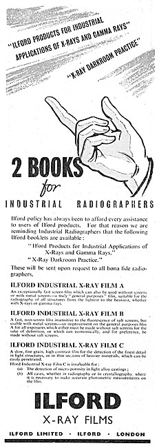 Ilford Photographic & Industrial Radiography Products