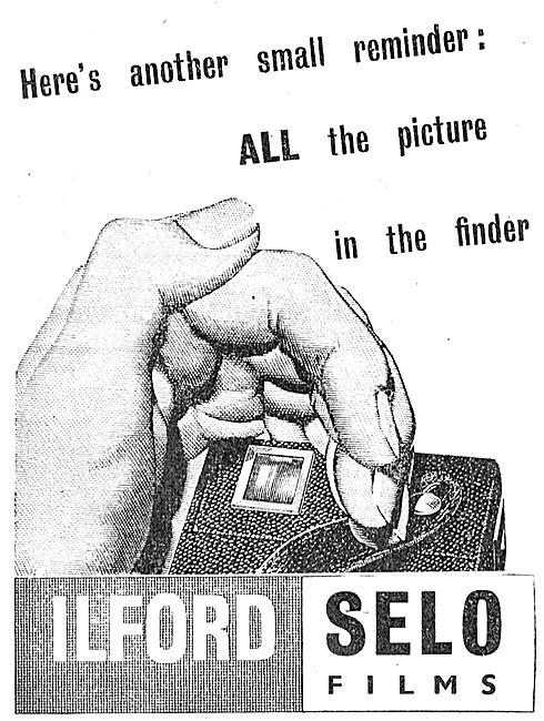Ilford Photographic Materials - Ilford SELO Films